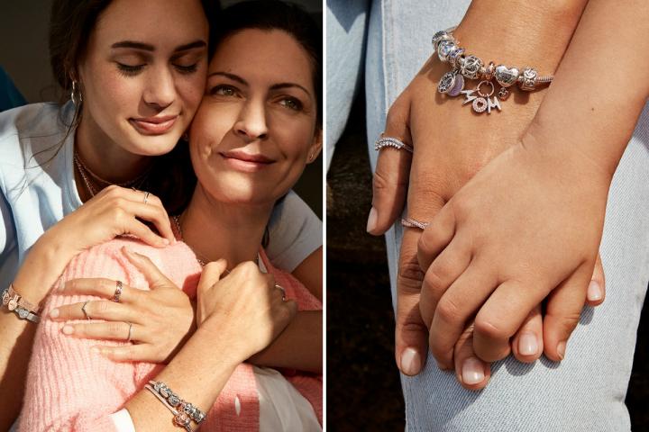 Pandora dévoile une collection spéciale Fête des mères