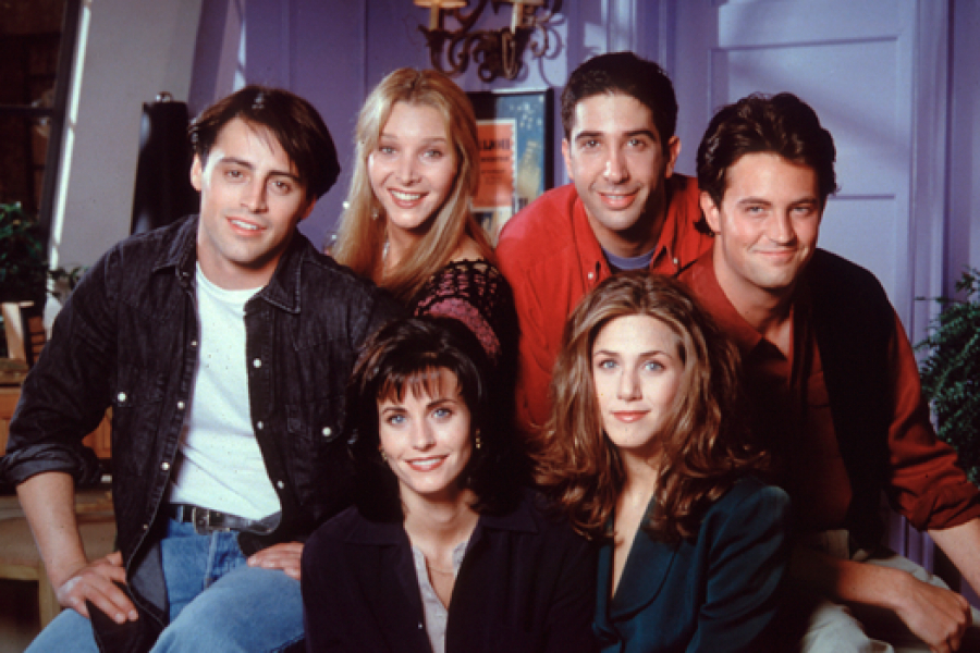 Quand ne Monica et Chandler brancher