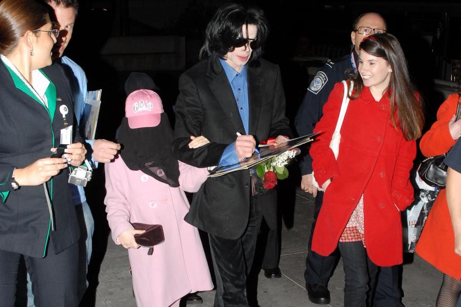 mode de luxe Royaume-Uni professionnel Pourquoi Michael Jackson masquait-il toujours ses enfants ...