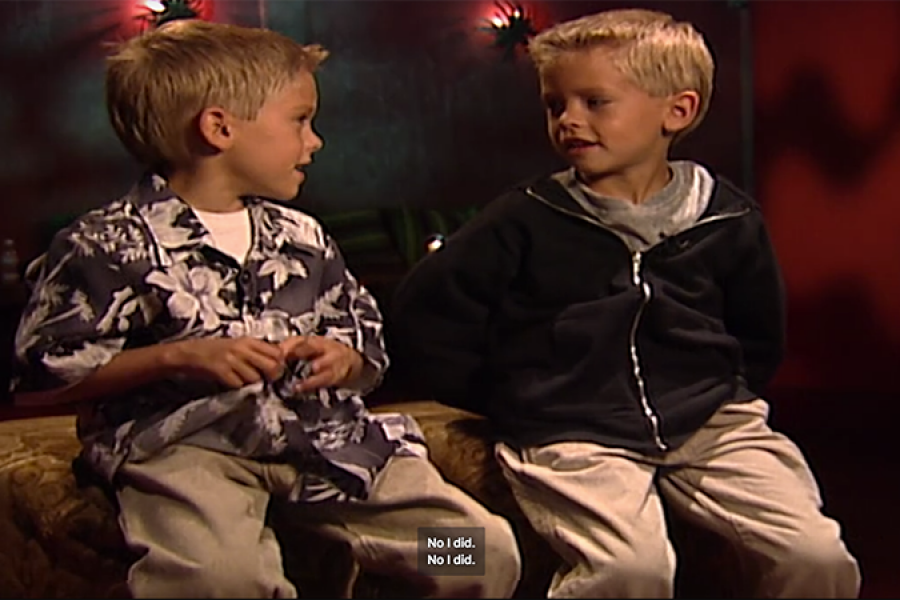 Dylan en Cole Sprouse