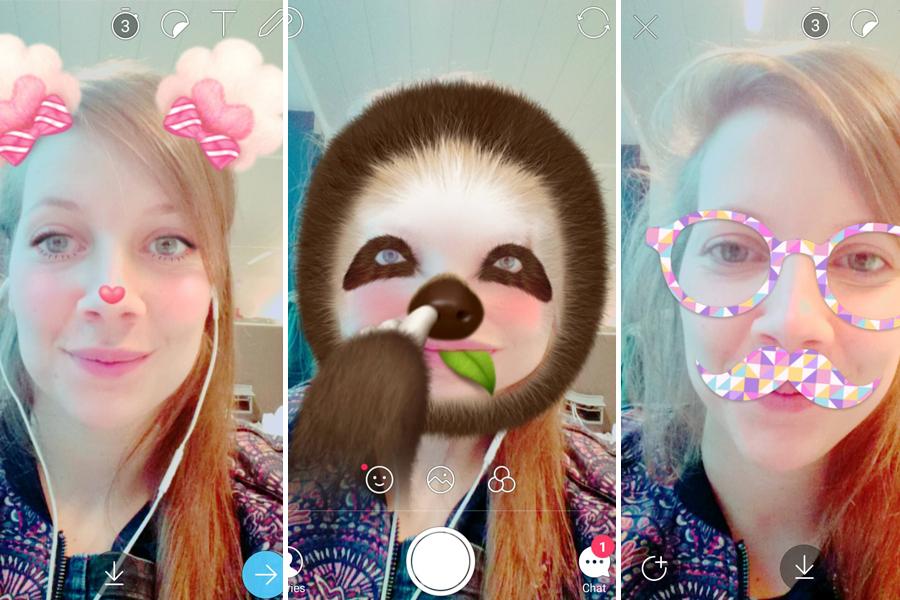 filters Snapchat