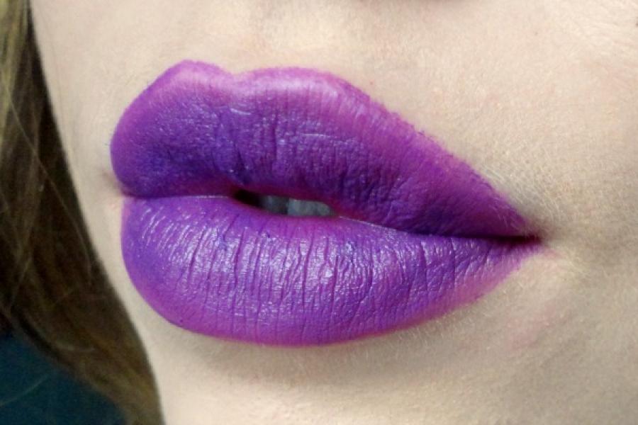 Trend Alert Paarse Lipstick Fashionista