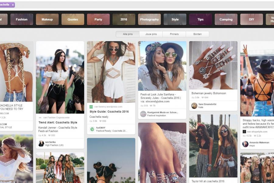 Pinterest-update