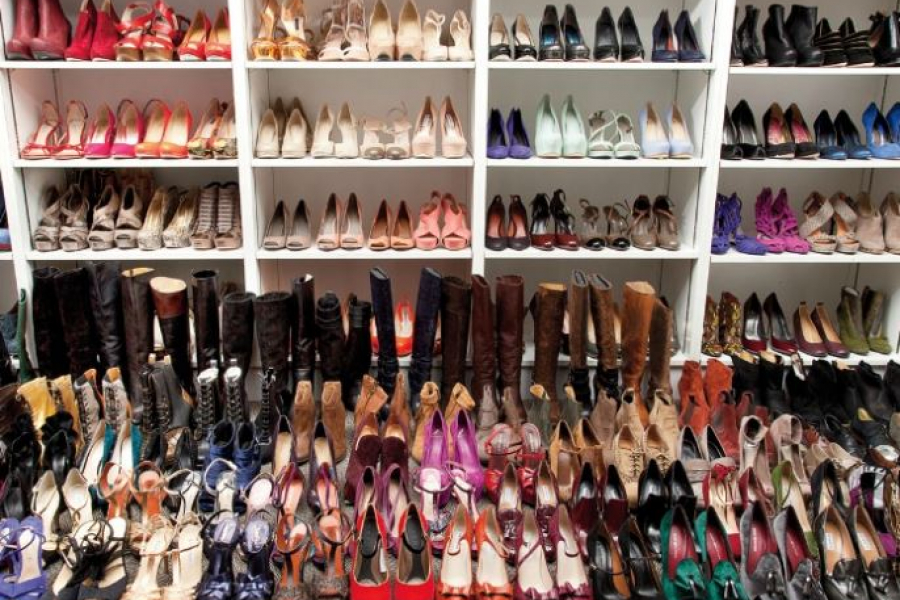 verslaafd aan schoenen
