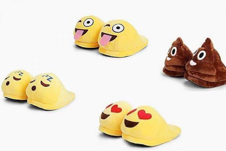 emoji-pantoffels