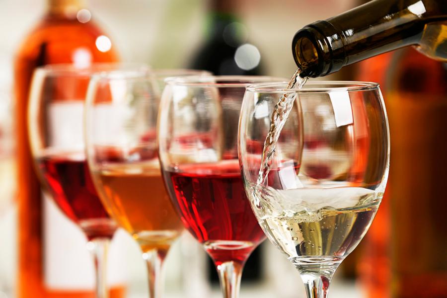 Afvallen met wijn