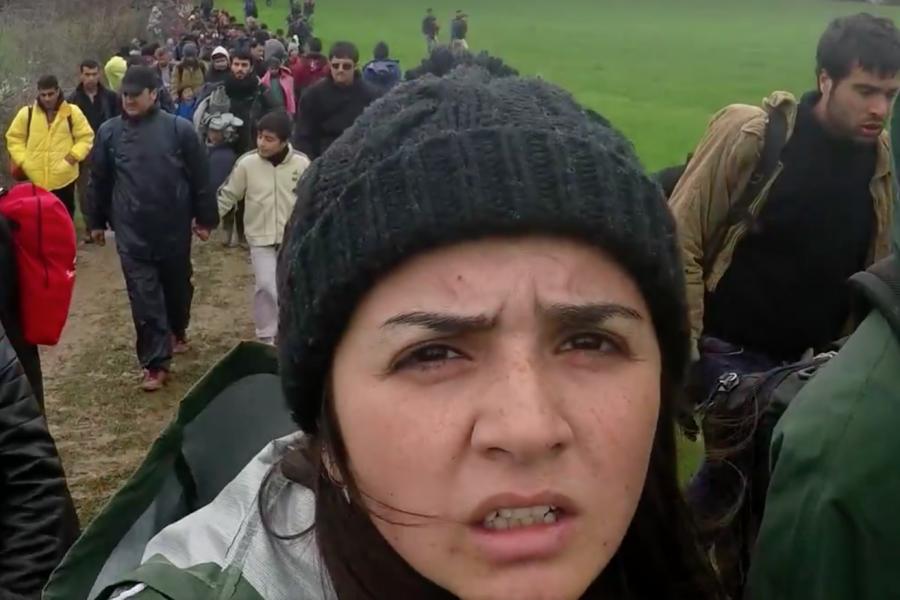 Escape From Syria La Video Bouleversante De La Jeune Rania