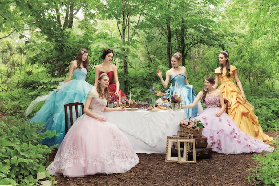 Costume Robe De Mariée La Belle Et La Bête Dessin Animé Disney