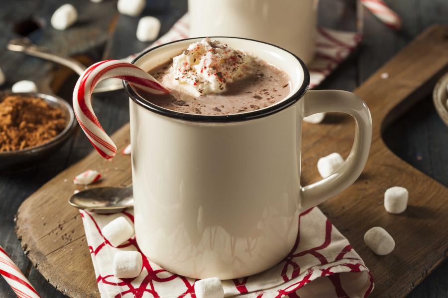 Chocolat chaud aux rhums épicés ou au brandy