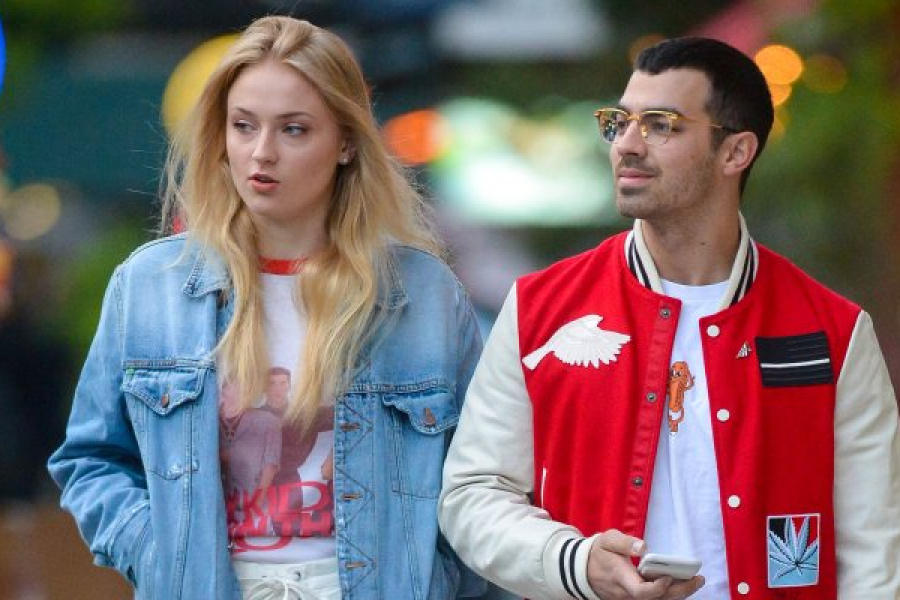 Joe Jonas en Sophie Turner