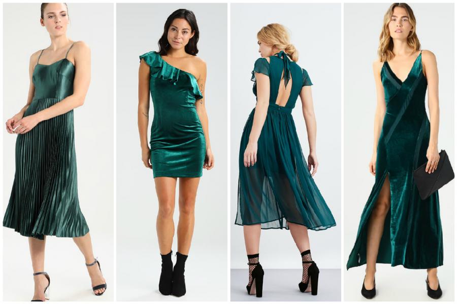 La robe verte, un indispensable dans votre garde,robe de fête