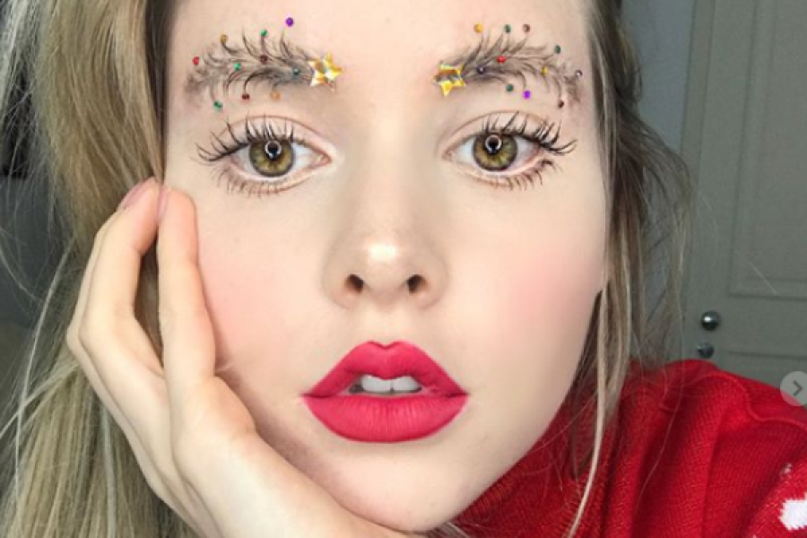 Christmas Tree Brows