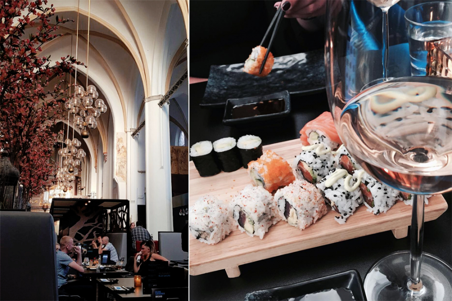 Blue Sakura sushi Zwolle