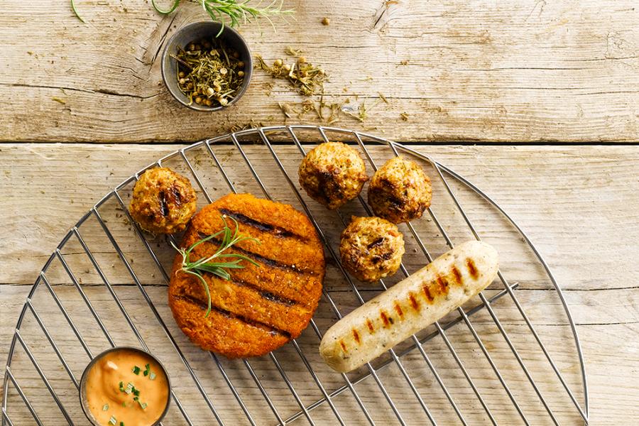 Vegetarische barbecuepakketten