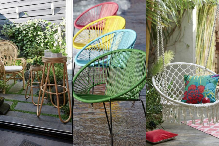 Quel mobilier de jardin pour chiller au soleil cette année?