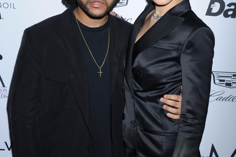 Bella en The Weeknd