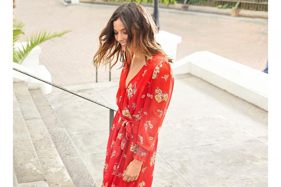 On Aime Les Robes Ultra Feminines De Mademoiselle R