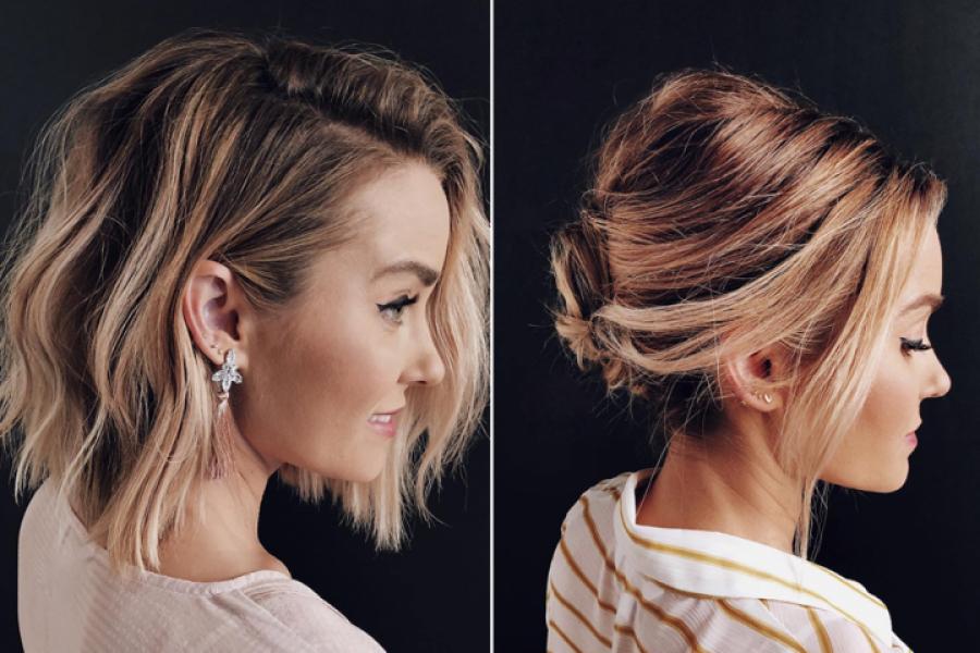 Coiffure Voila Comment Realiser Un Chignon Quand On A Les Cheveux Courts