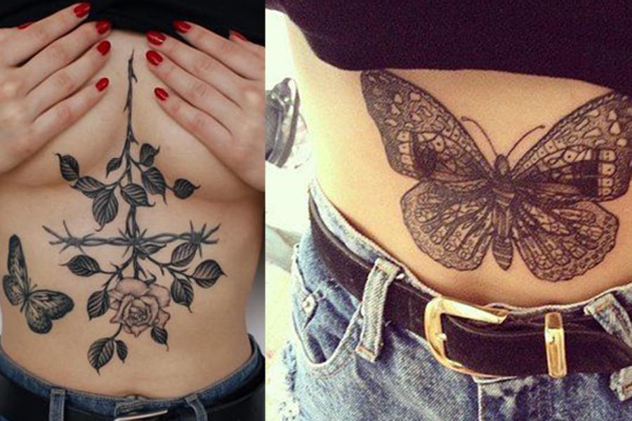 Zien De Allermooiste Tattoos Op Je Buik