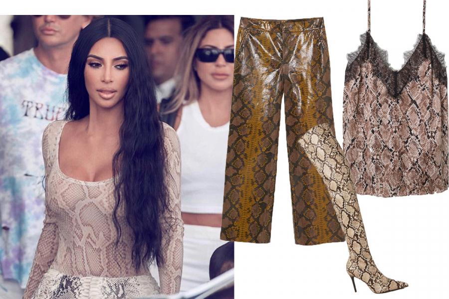 @Kim Kardashian / Zara / H&M / Mango