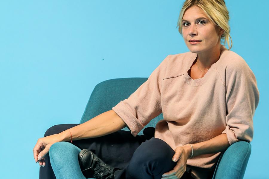 Nathalie Meskens in 'Blind Date'