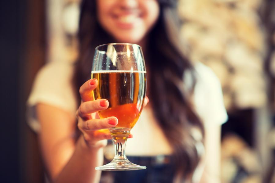 bière femmes