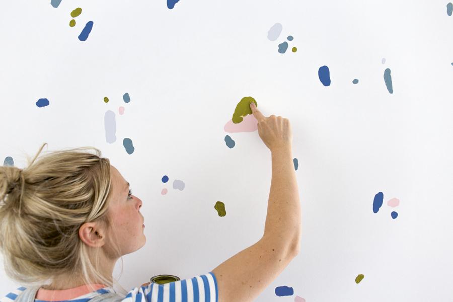 Muurschildering Wonderwalls