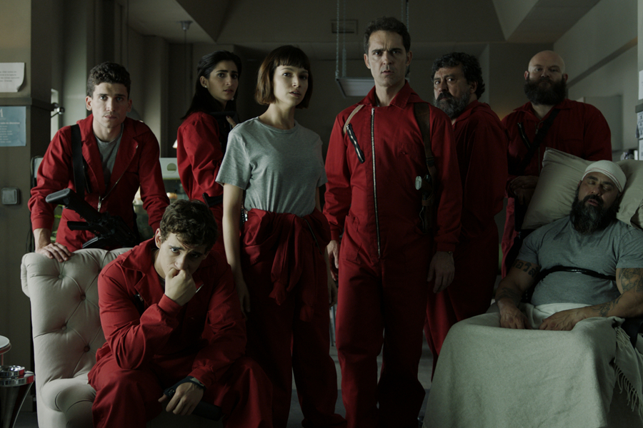 casa de papel couple