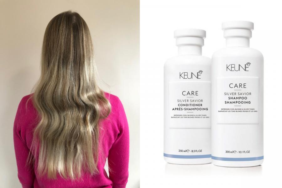 Keune Care Silver Savior, shampoing et après-shampoing