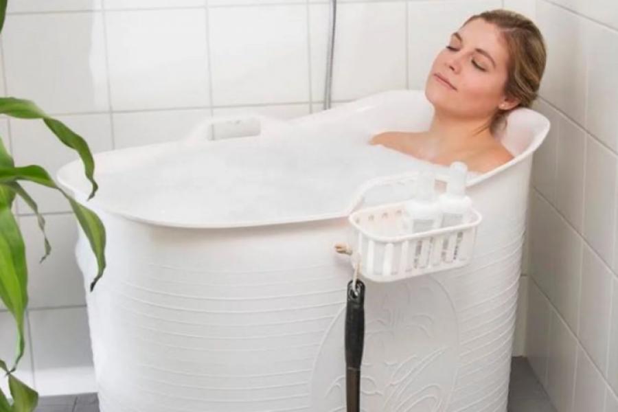 Voici La Solution Miracle Pour Prendre Un Bain Si Vous N Avez Pas De Baignoire