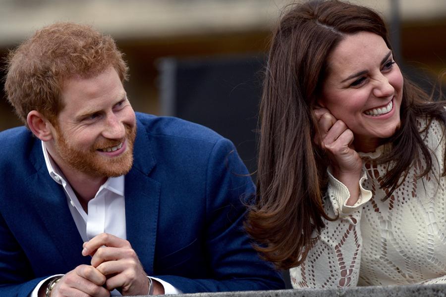 Prins Harry en Kate Middleton