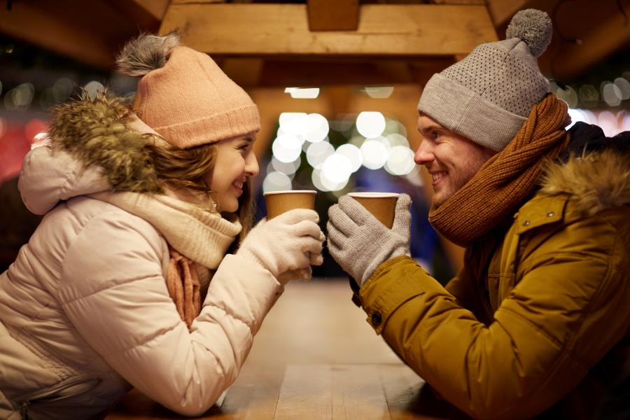 rendez-vous romantiques hiver