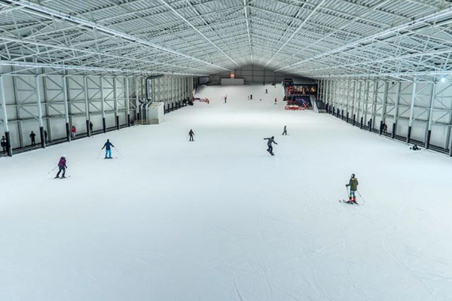 piste ski indoor