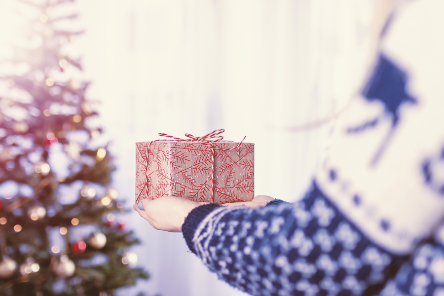 kerstcadeau doorverkocht