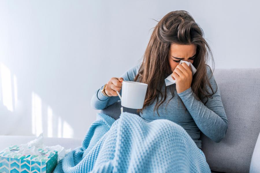rhume grippe