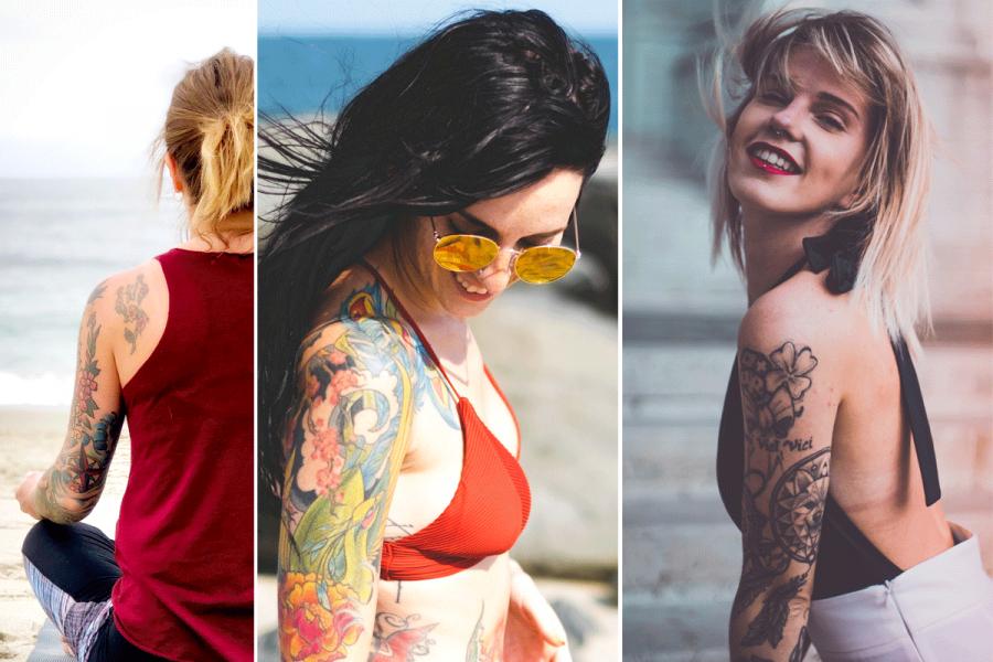 Zien Dit Zijn De Allermooiste Tattoosleeves Voor Vrouwen