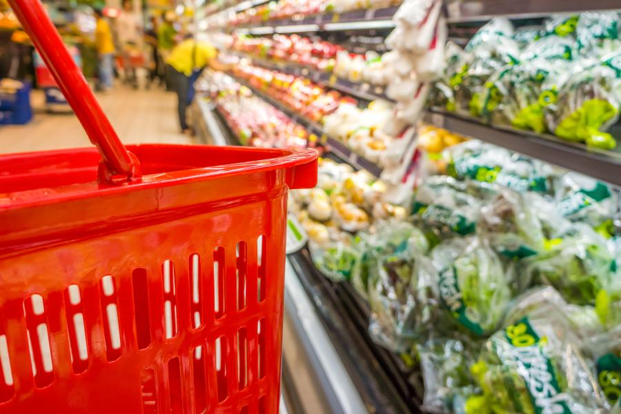 plastique supermarchés