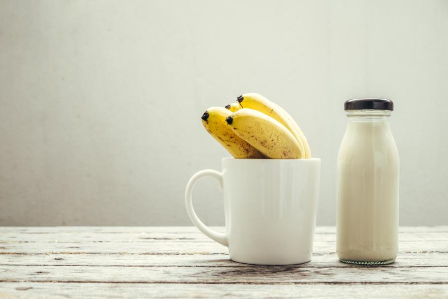 lait de banane