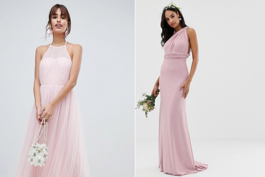 ophalen gedetailleerde afbeeldingen geweldige aanbiedingen 11 pastelroze maxi-jurken om in te schitteren op die eerste ...