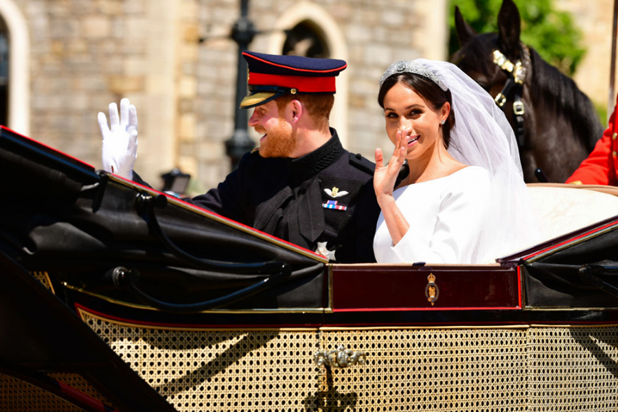 Prins Harry en Meghan Markle
