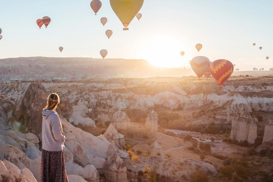 Marie in Cappadocië
