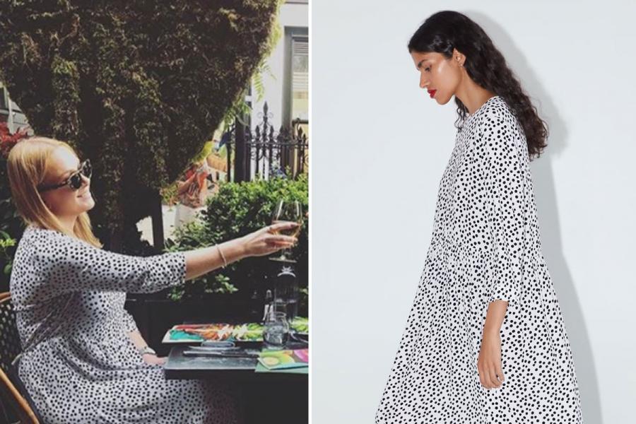 Hedendaags Dit populaire Zara-jurkje heeft een eigen Instagramaccount CV-09