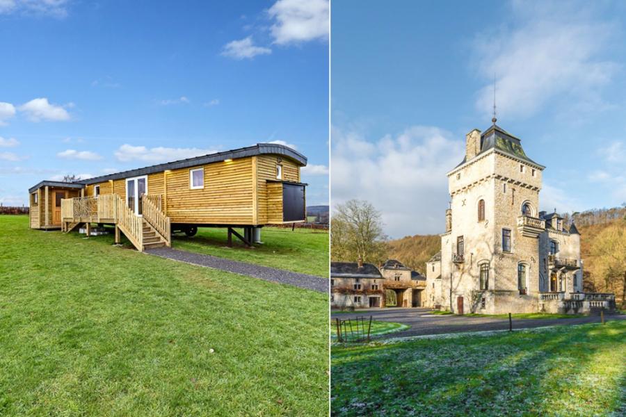 Vakantiehuisjes in de Ardennen