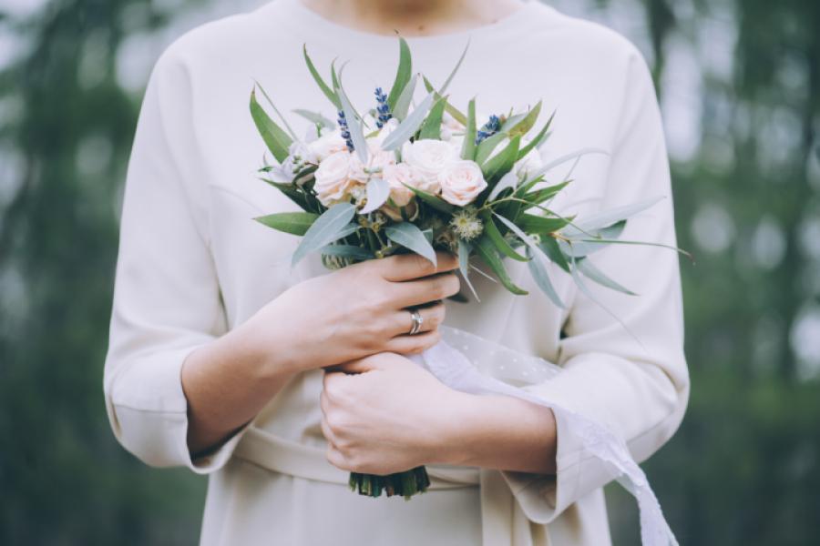 bouquets fleurs mariée