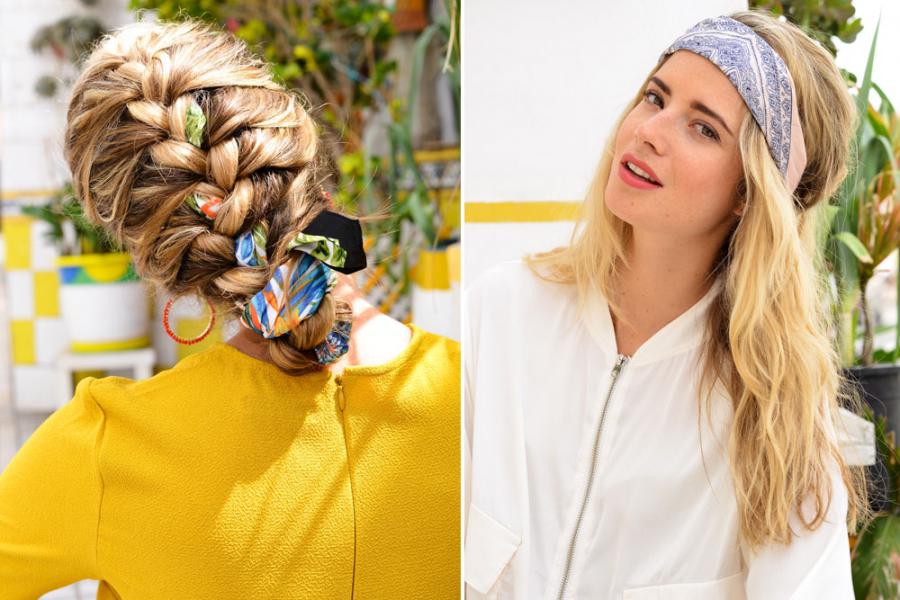 sjaaltje in je haar