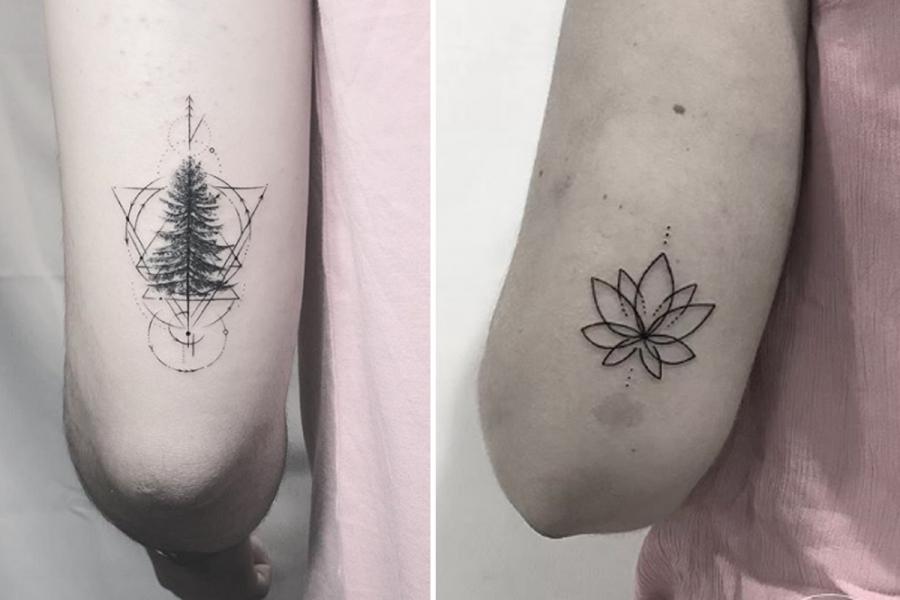 Zien De Allermooiste Tattoos Voor Net Boven Je Elleboog