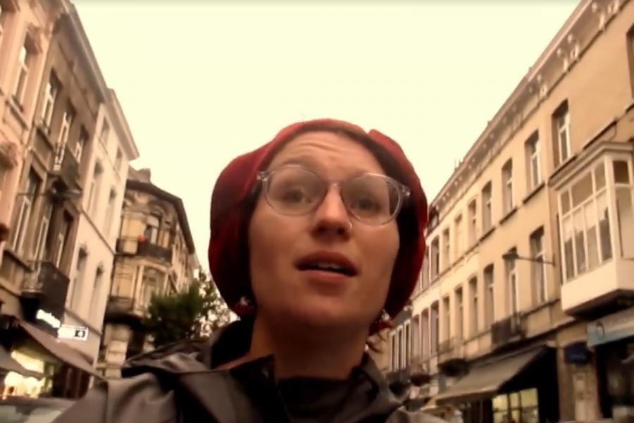 Capture d'écran vidéo Lydie Thonnard