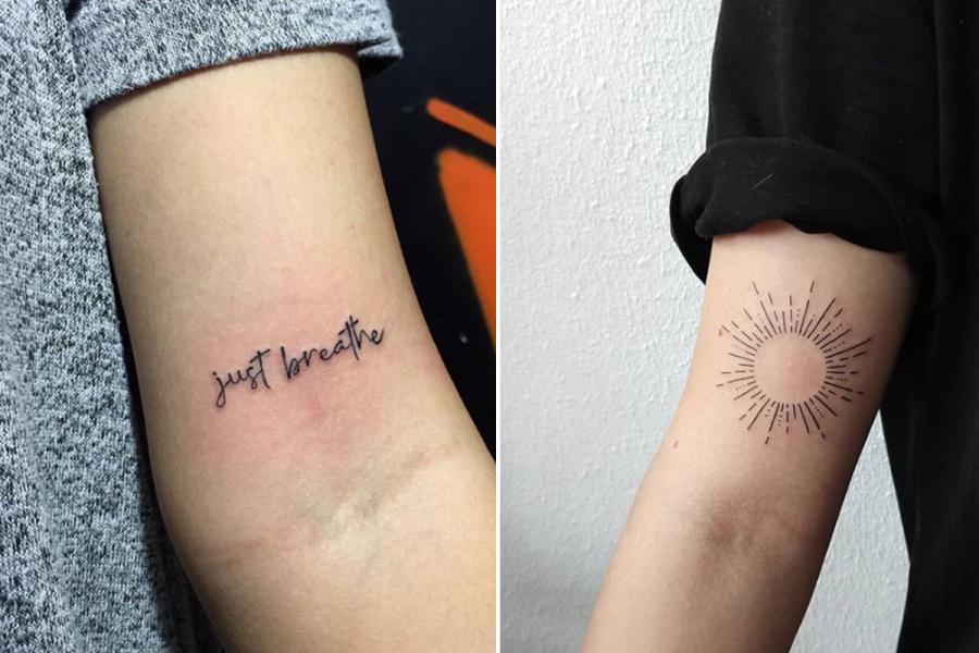 Zien 17 Van De Allermooiste Tattoos Voor Op Je Bovenarm