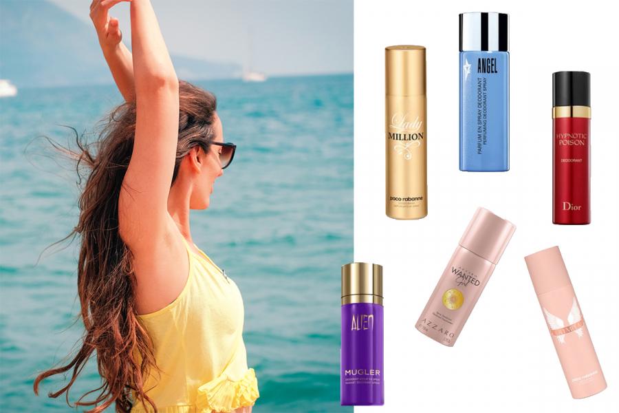 deodorants zomer