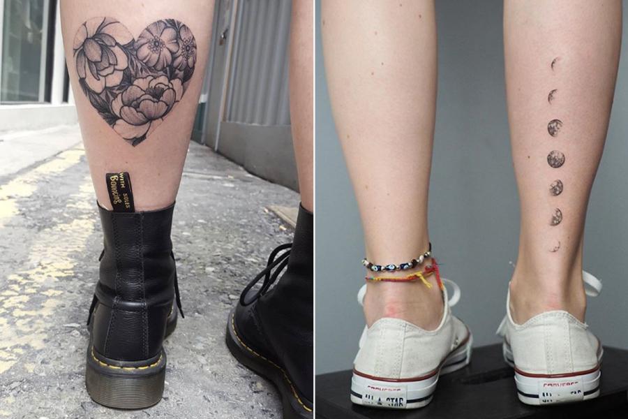Zien 17 Van De Allermooiste Tattoos Voor Op Je Kuit